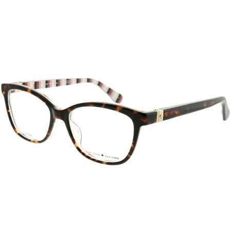 b5fff28db7ef Kate Spade KS Emilyn 086 52mm Womens Square Eyeglasses - Walmart.com