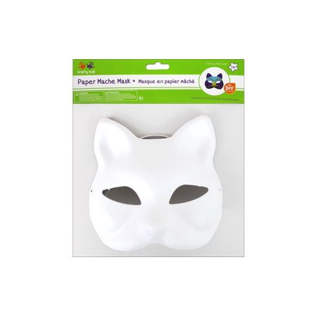 Multicraft DIY Paper Mache Mask w/Band Fox](Diy Paper Mache Mask)