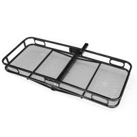 Pentagon Tools 500 lb Hitch Mount Cargo Luggage Rack for Car