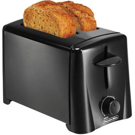 Hamilton Beach 2-Slice Toaster, Black