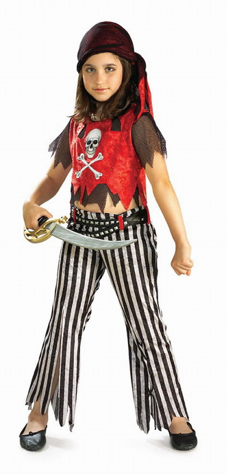 Rubie's Girls 'Pirate' Halloween Costume by Rubies