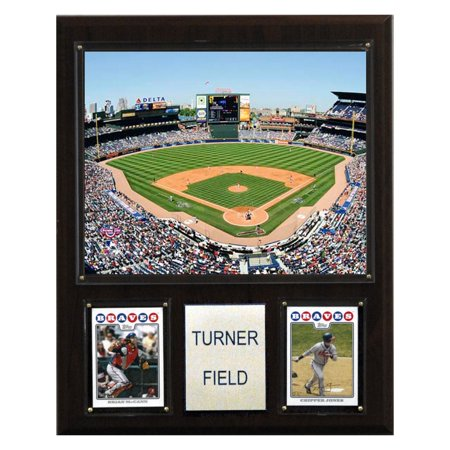 C&I Collectables MLB 12x15 Turner Field Stadium