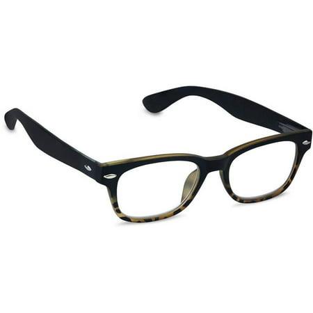 1c328428bb Rainbow Bright Black Tortoise Reading Glasses by Peepers