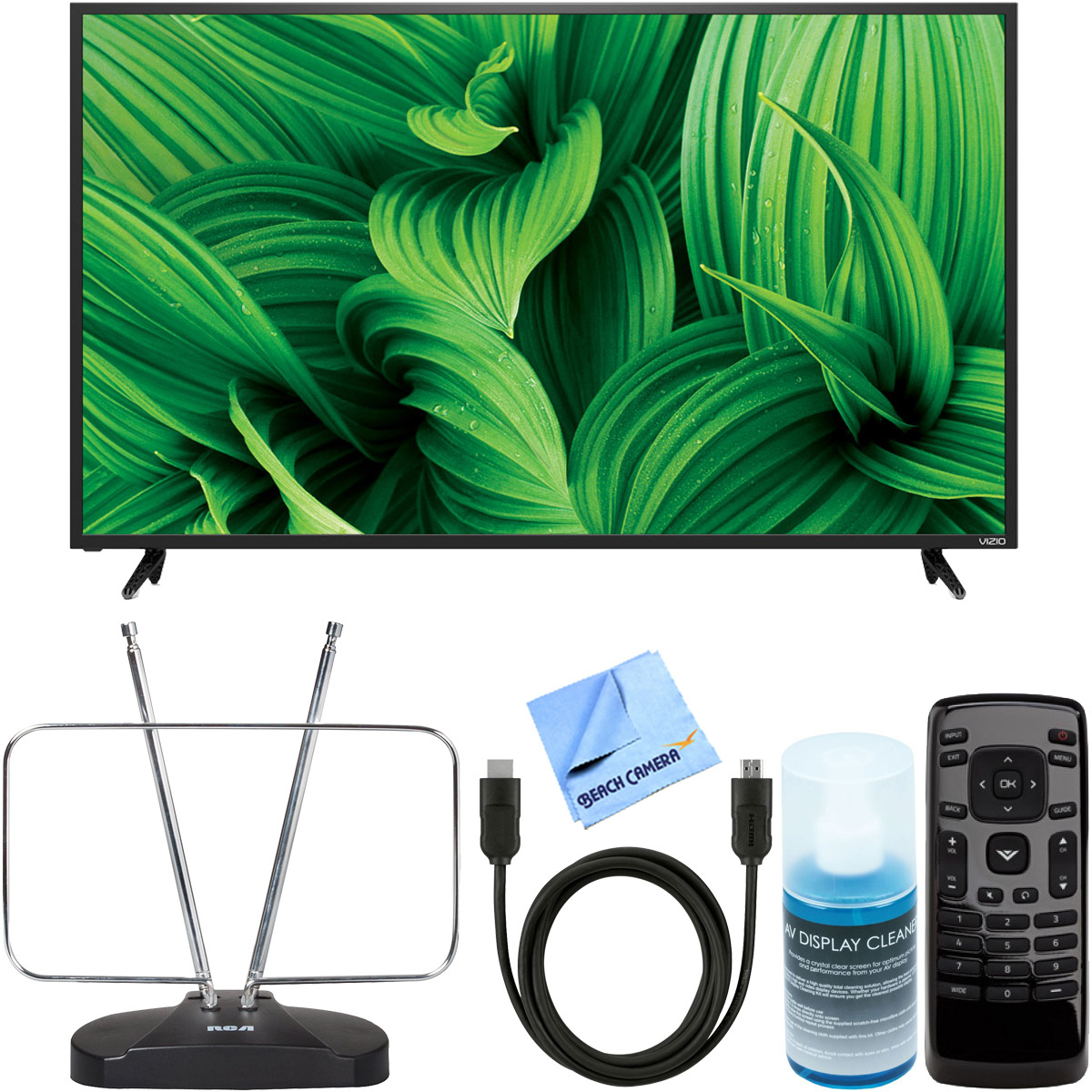 "Vizio D55n-E2 D-Series 55"" Full Array LED Smart TV + RCA ..."