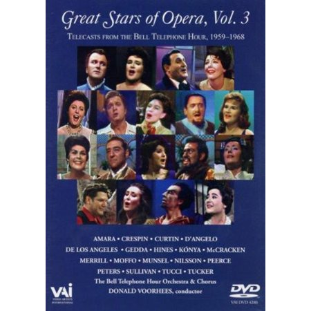 Great Stars of the Opera From Bell Telephone HR 3 (Great Mall Hours Thanksgiving)