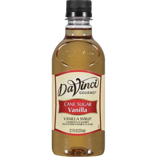 DaVinci Gourmet Cane Sugar Vanilla Syrup, 12.7 fl oz