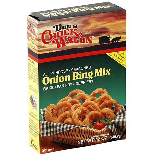 Don's Chuck Wagon Onion Ring Batter Mix, 12 oz (Pack of 12)