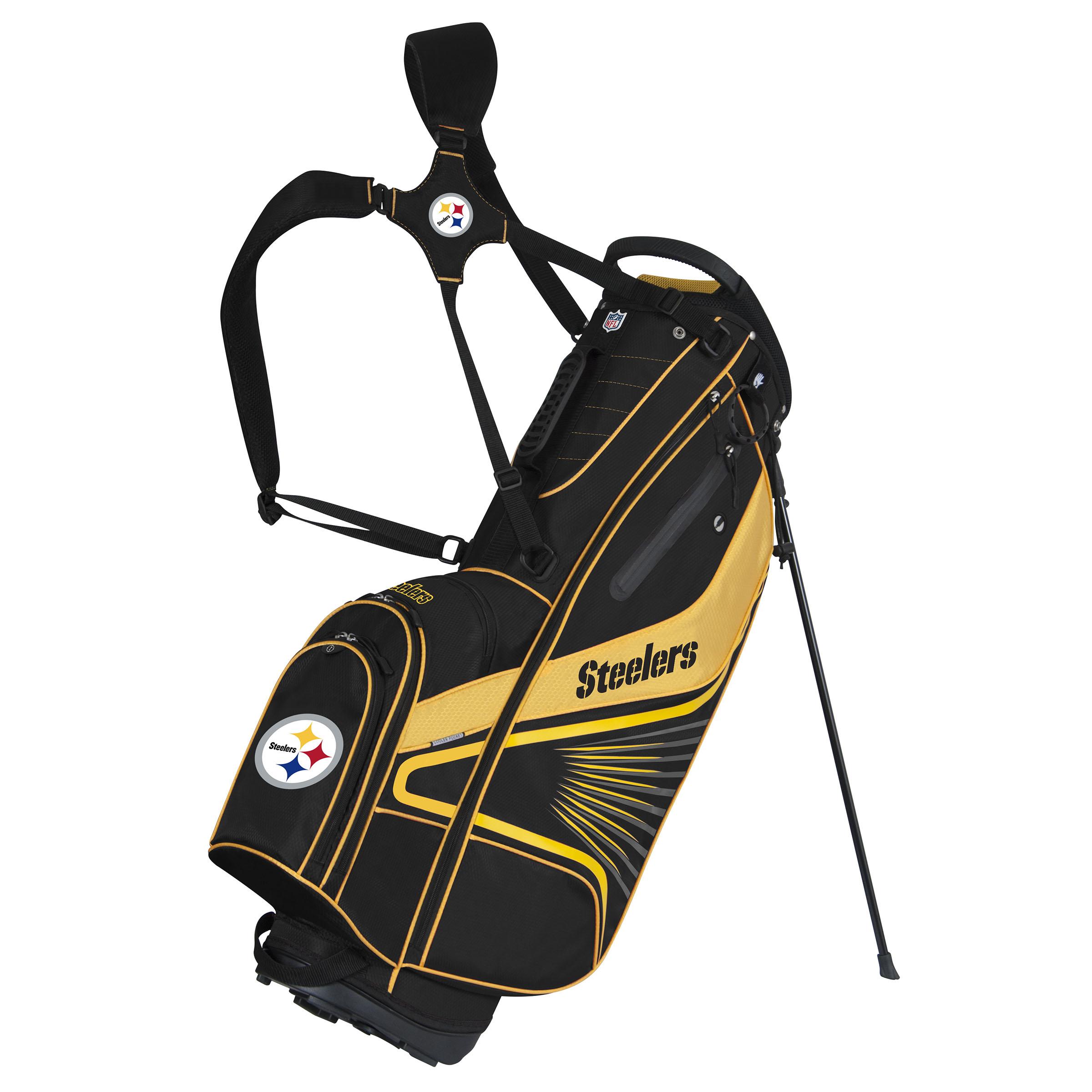 Pittsburgh Steelers Gridiron III Stand Bag - No Size