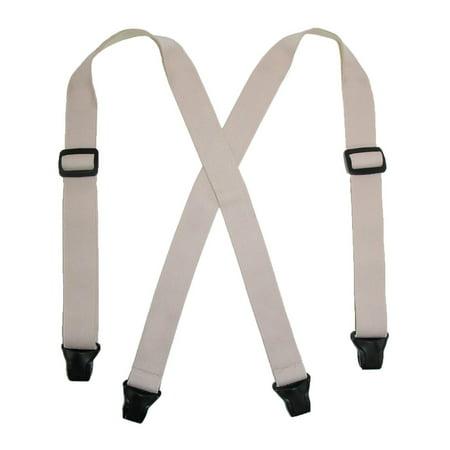 Size one size Women's Elastic Undergarment TSA Compliant Clip End Suspenders, (Accessories Undergarment)