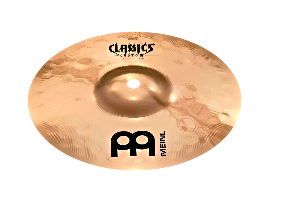 Meinl Classics Custom Extreme Metal Splash Cymbal 10 in. by Meinl