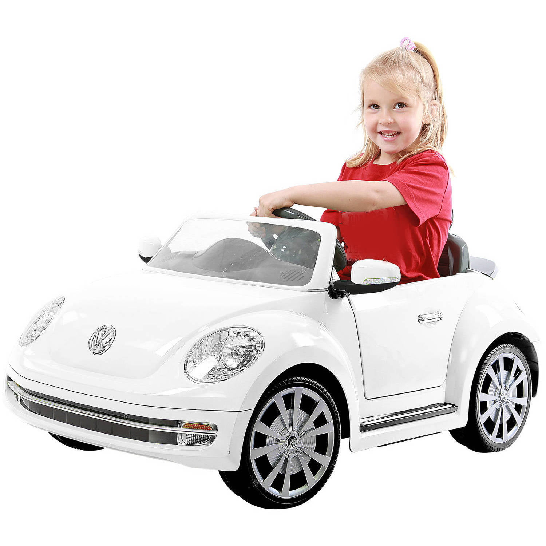 Volkswagen Inventory: 6v Vw White Beetle Ride On