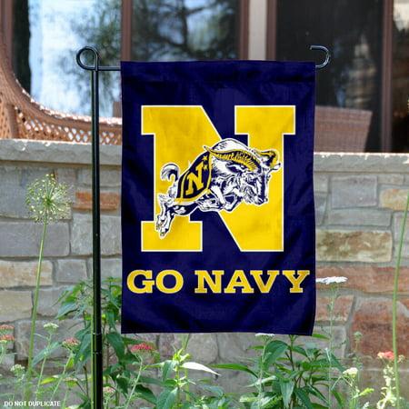 """US Navy Midshipmen 13"""" x 18"""" College Garden Flag"""