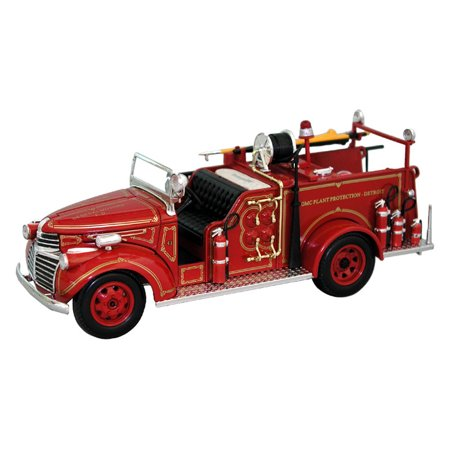 1941 GMC Fire Truck Dearboro Fire Dept., Red - Signature Models 32348 - 1/32 Scale Diecast Model Toy Car ()