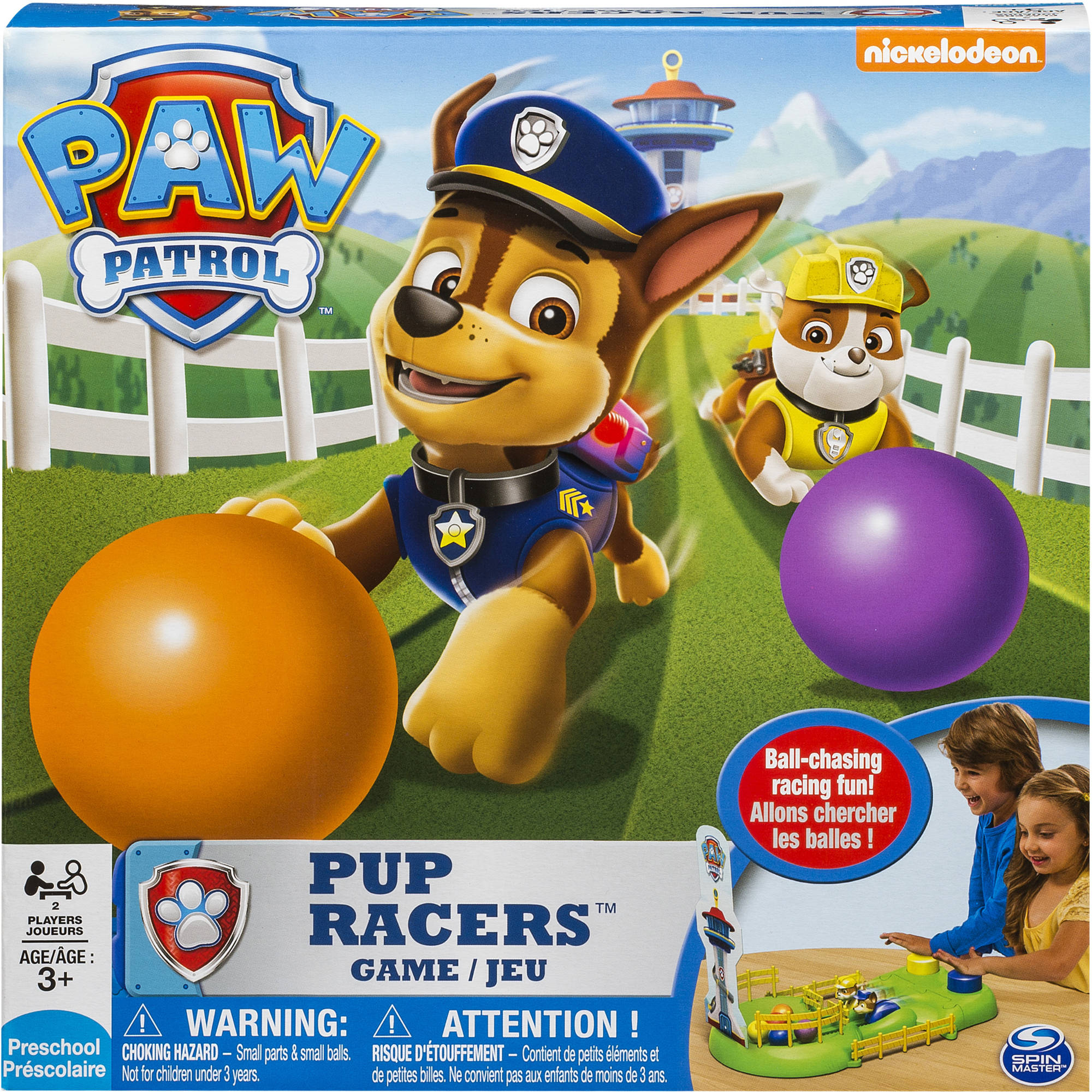 Paw Patrol Pup Racers Board Game by Spin Master Ltd