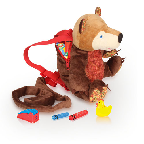 Eric Carle 2-in-1 Backpack Harness, Bear