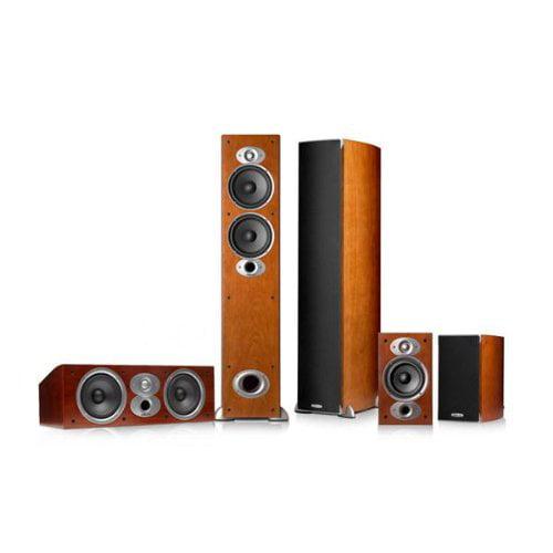 Polk Audio RTiA5 5.0 Home Theater Speaker Package (Cherry) by Polk Audio