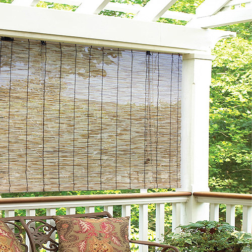Radiance Reed Woven Wood Bamboo Rollup Window Blind, Natural