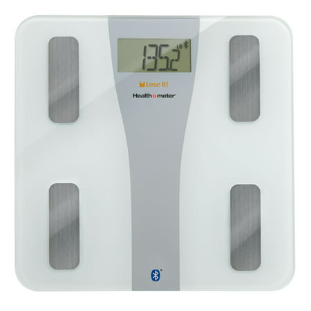 Health o meter Lose It! Wireless Glass Body Fat Scale for iPhone,