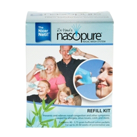 Nasopure Nasal Irrigation System for Sinus Cleanse Refill Kit