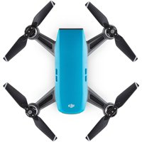 DJI Spark Palm Launch Quadcopter Drone with UltraSmooth Camera (Sky Blue)