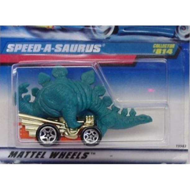 Mattel Hot Wheels 1998 1:64 Scale Green Speed-A-Saurus Die Cast Car Collector #814