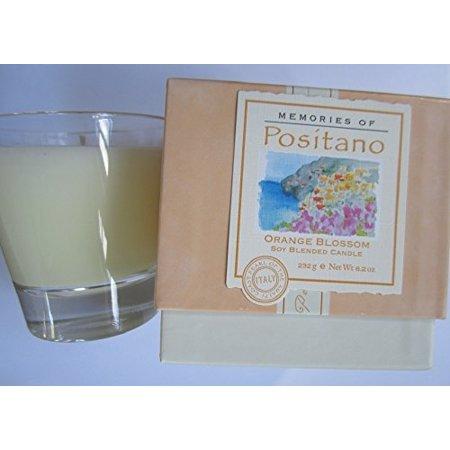 - Get Fresh Memories of Positano Orange Blossom Soy Blended Candle