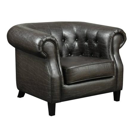 Emerald Home Soho Accent Chair Espresso U3724 05 06