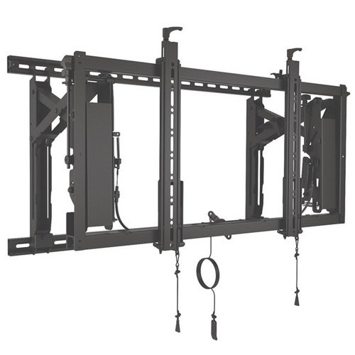"Chief Connexsys Lvs1u Wall Mount For Flat Panel Display - 42"" To 80"" Screen Support - 150 Lb Load Capacity - Black (lvs1u)"