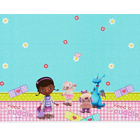 Doc McStuffins Plastic Table Cover 54
