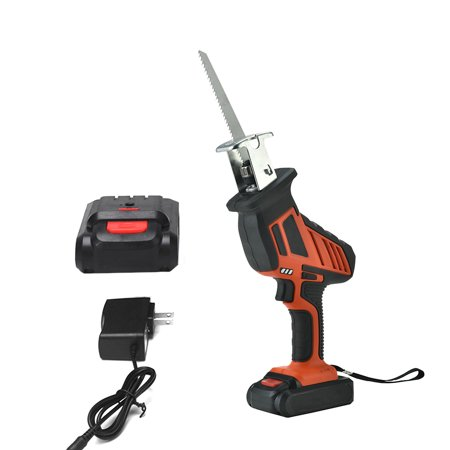 Handheld Electric Saw Electric Motor Saw Mini Sawing Machine Reciprocating Saw Running Saw Portable Saber Saw -saw Small Felling Saw 21V 3500mAh Rechargeable Lithium