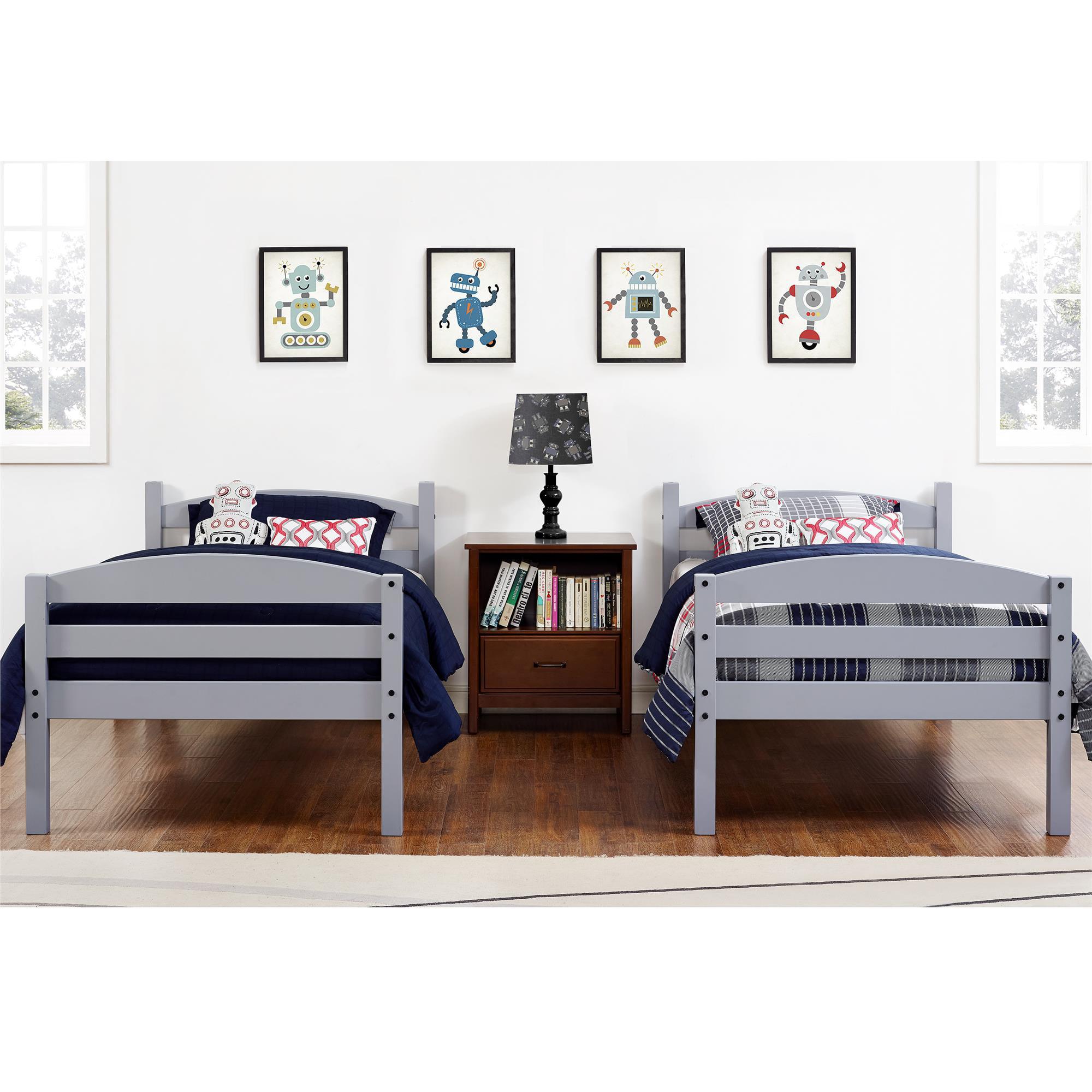 Bunk Beds Frame Bedroom Furniture For Kids Men Twin Clearance Wood - Girl bedroom furniture clearance