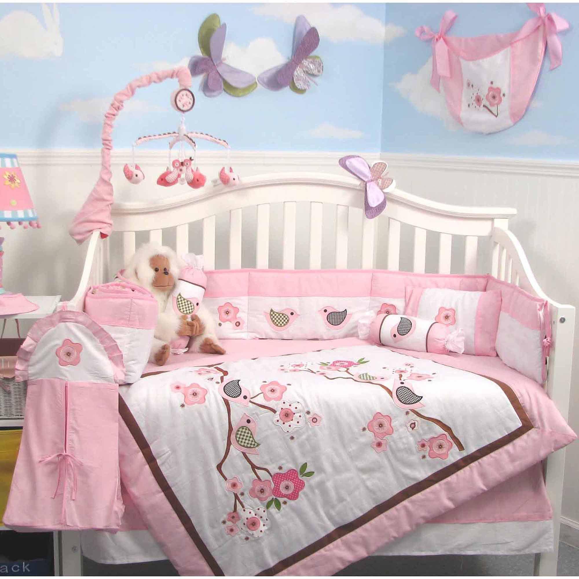 Soho Baby Crib Nursery Bedding 9 Piece