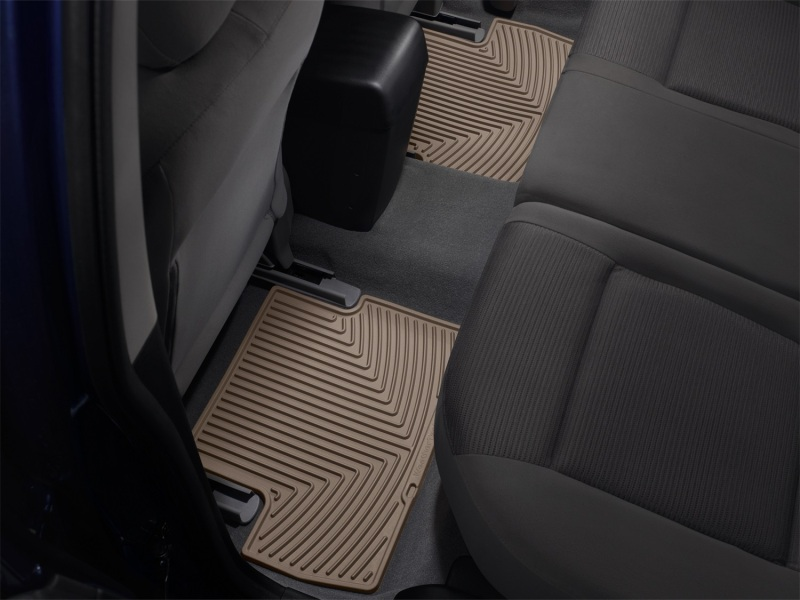 Weathertech  Ford F  Rear Rubber Mats Tan