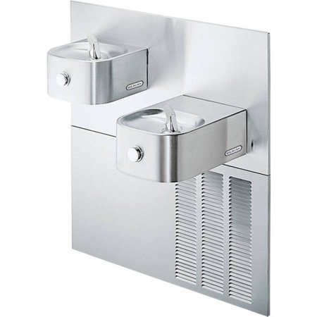 Bi Level Filter - Elkay LNTEM8RAK Filtered Soft Sides ADA Bi-Level Reverse Refrigerated Fountain