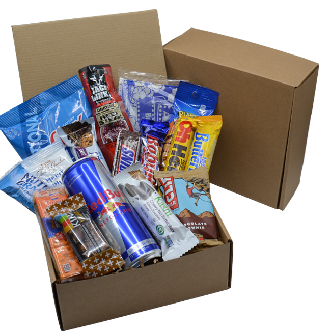 High Energy Snack Food Gift Basket