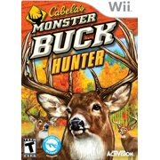Cabelas Monster Buck Hunter - Software Only - Nintendo Wii, Experience fast-paced hunting action in