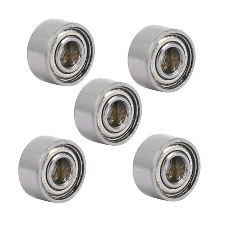 MR52ZZ 5mmx2mmx2.5mm Single Row Double Shielded Deep Groove Ball Bearings 5pcs - image 4 of 4