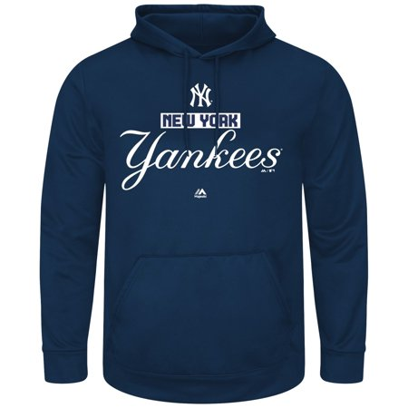 """New York Yankees Majestic MLB """"Mighty Moments"""" Hooded Mens Sweatshirt by"""