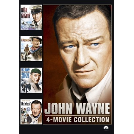 John Wayne 4-Pack (DVD) Dvd 3 Pack Light