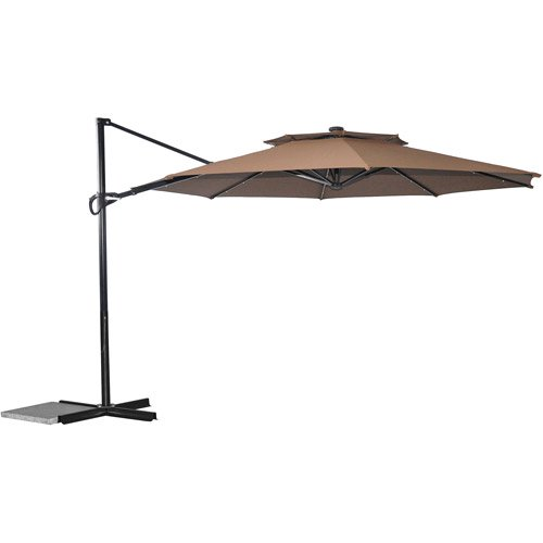 Better homes and gardens off set umbrella with solar lights dark better homes and gardens off set umbrella with solar lights dark brown walmart workwithnaturefo