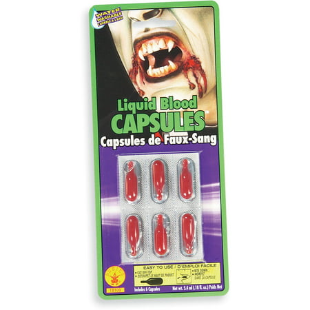 Blood Capsules - Halloween Bloody