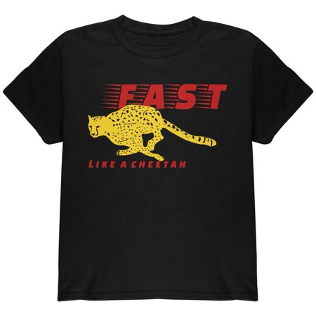 Fast Like A Cheetah Youth T Shirt](Cheetah Merchandise)