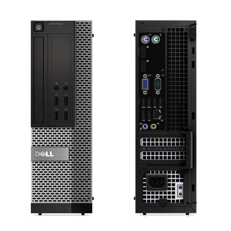 Refurbished - Dell OptiPlex 7020, SFF, Intel Core i7-4770 up to 3.90 GHz, 8GB DDR3, NEW 128GB SSD, DVD-RW, Wi-Fi, USB to HDMI Adapter, NEW Keyboard + Mouse, Win10 Pro 64 - image 3 of 3