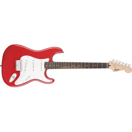Fender Squier Bullet Strat HT Electric Guitar, Rosewood Fingerboard - Fiesta Red