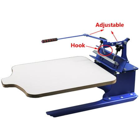 TECHTONGDA 1 Color Screen Printing Kit T-shirt Press Printer Start Hobby Supplies (T Shirt Printing Business Start Up Kit)