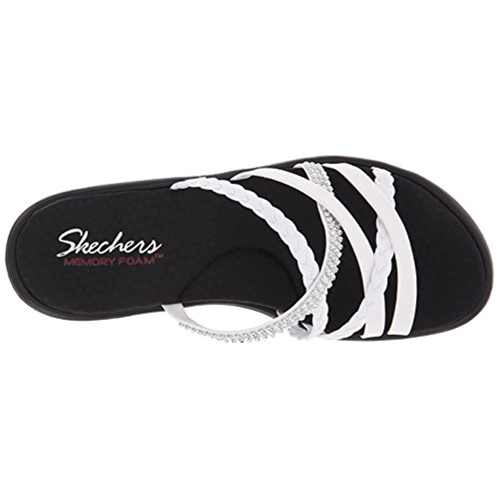 Skechers Skechers 38566WHT Women'S RUMBLERS WILD CHILD