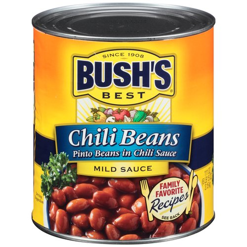 Bush's Best Chili Beans in Mild Sauce, 111 oz