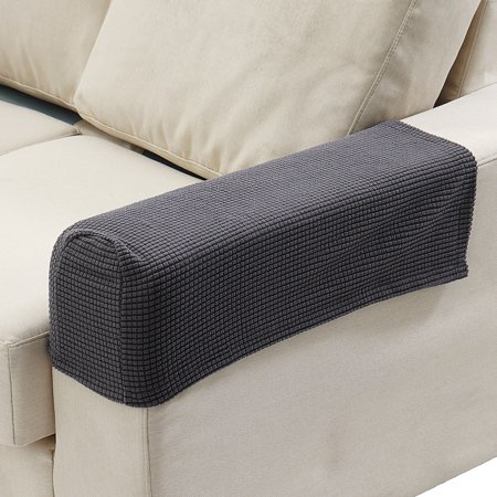 Fabulous 2Pcs Premium Stretch Furniture Armrest Covers Sofa Couch Chair Arm Protectors Download Free Architecture Designs Scobabritishbridgeorg