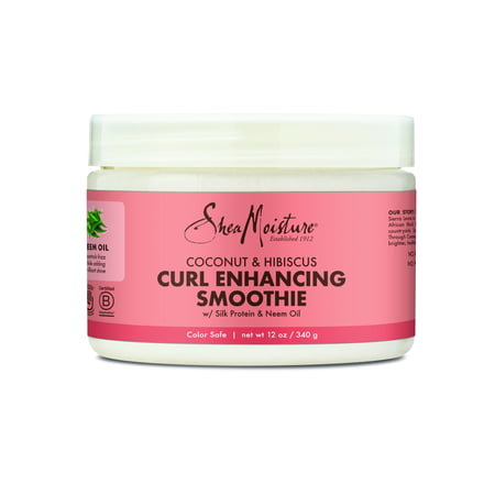 SheaMoisture Coconut & Hibiscus Curl Enhancing Smoothie, 12 (Best Way To Use Shea Moisture Curl Enhancing Smoothie)