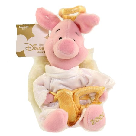 Disney Piglet Jewelry - Disney Bean Bag Plush - CHOIR ANGEL PIGLET (Winnie the Pooh) (8 inch)